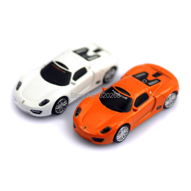 Free shipping! Hot Selling Genuine 2GB/4GB/8GB/16GB/32G Racing car USB Flash Drive,Racing car Pen Drive Stick, 2 color Car model(China (Mainland))