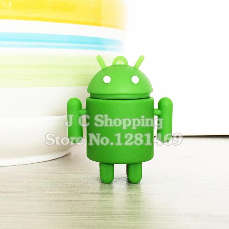 Garunk U Disk cartoon android pen drive 4GB 8GB 16GB 32GB usb flash drive flash drive memory stick pendrive Free shipping(China (Mainland))