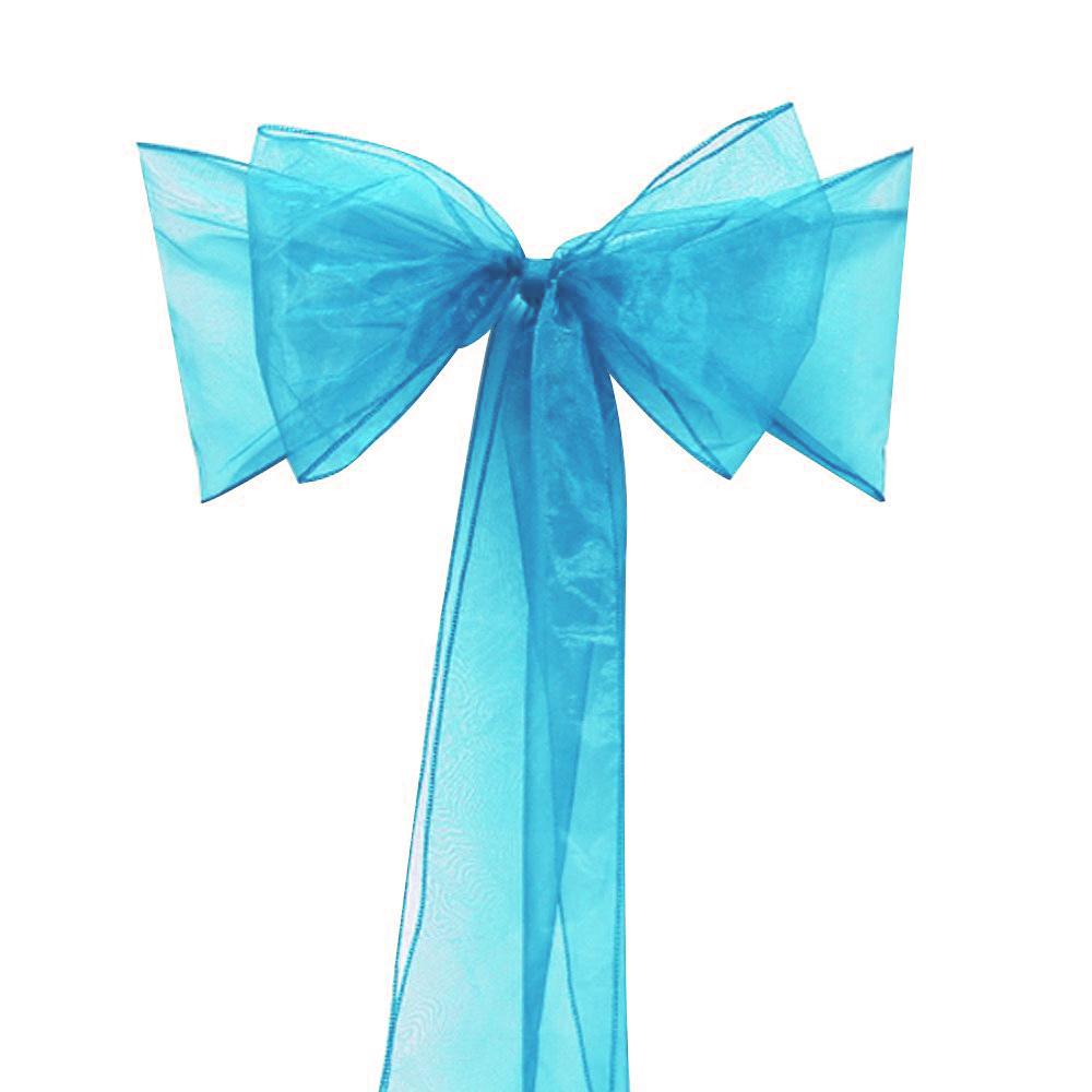 aliexpress buy high quality 100pcs teal blue organza