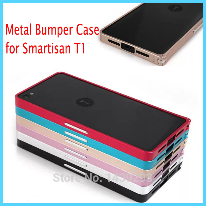 Smartisan T1 Metal Aluminum Bumper Buckle Case Cover for Smartisan T1 Mobile Phone Shell Frame Protective Case + Gift(China (Mainland))