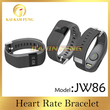 JW86 Wristband Smart Bracelet Bluetooth 4.0 Fitness Activity Tracker Pulsera heart rate wireless sport band for fitbit charge HR