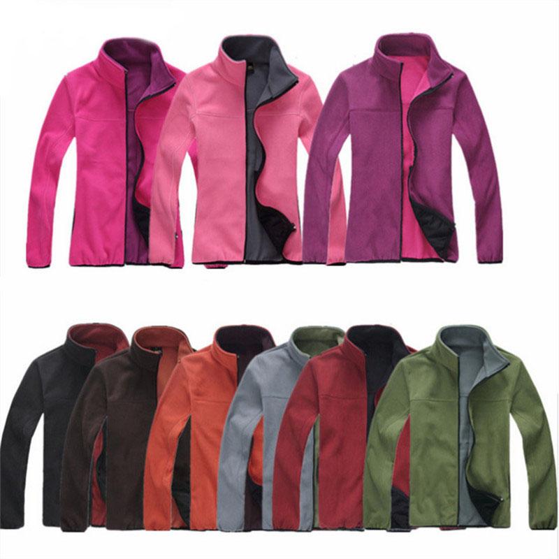 Men Winter Hiking Polar Fleece Jackets Softshell Coat Anti-Static Outdoor Thermal Breathable Camping Fishing Jacket NA363