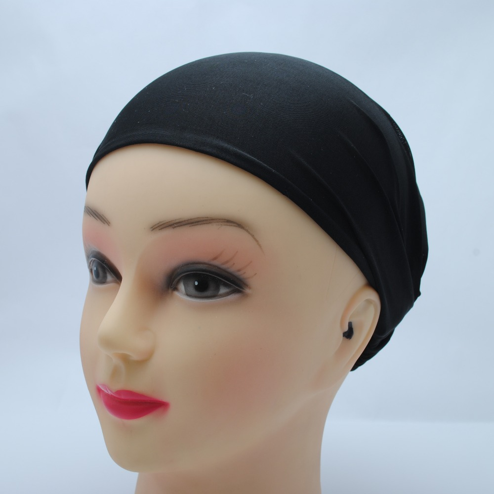 Newest Fashion Solid color Black Spandex Headband Smooth Head Wrap Hair band Hair Accessory(China (Mainland))