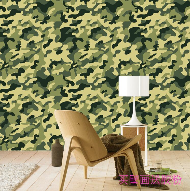 Popular army camouflage wallpaper buy cheap army for Army wallpaper mural