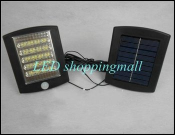 Freeshipping, solar infrared sensor security light,36 LED solar powered motion detection sensor lamp retailsale