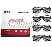 4 pcs New originale ag - f310 3D lunettes polarisées lunettes passives pour LG ag - f310 cinéma livraison gratuite(China (Mainland))