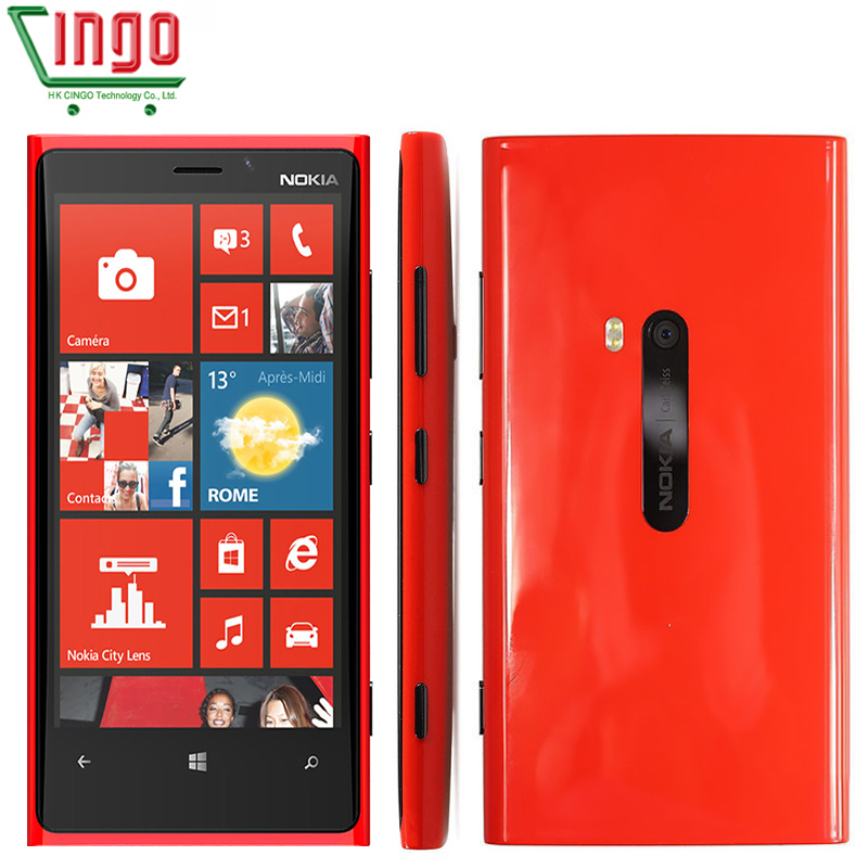 Original Nokia Lumia 920 Unlocked 4.5''IPS Win 8 OS Dual-Core 1.5GHz 32GB 3G GPS WIFI 8.7MP 1080P Windows Phone Nokia 920(China (Mainland))