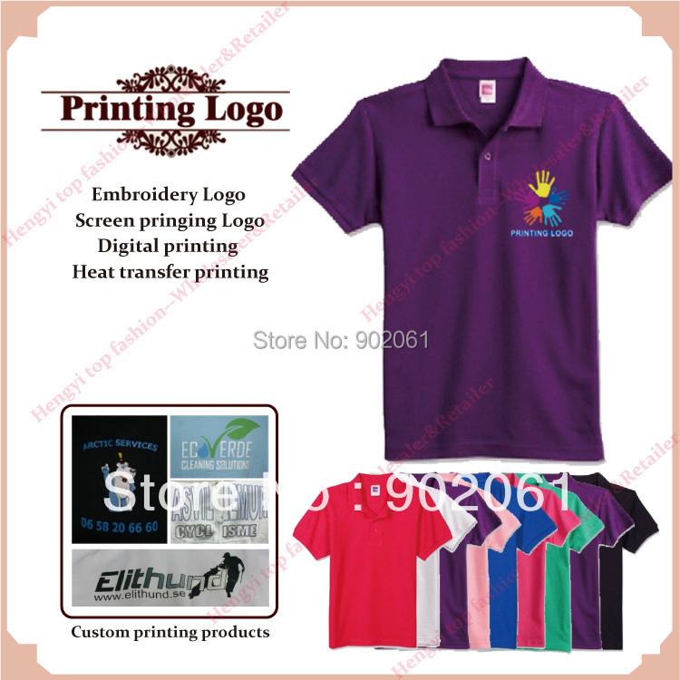 Promotion custom logo professional design custom made silk for Custom business logo t shirts