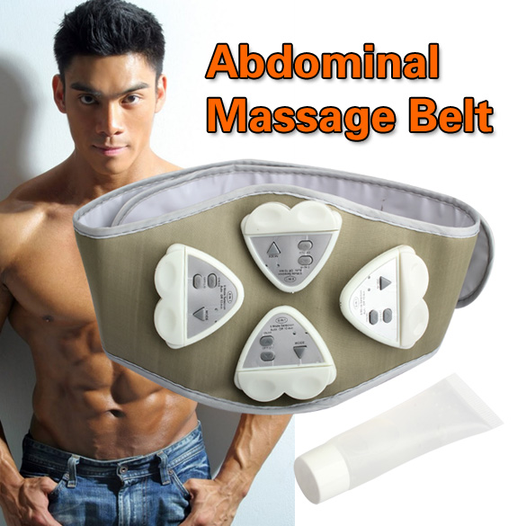 1pcs Gymnic Gymnastic Body Building A Belt Electronic AB Exercise Toning Toner Waist Muscle Wholesale Electronic Belt(China (Mainland))