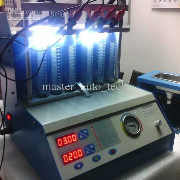 Auto Fuel Injector cleaner 6 jars ultrasonic Fuel Injector cleaner MST-A360(China (Mainland))