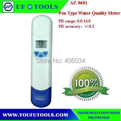 AZ 8681 Water Quality Meter\Pen Type \pH Pen<br><br>Aliexpress