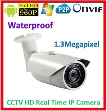Real Time Waterproof 960P IP CCTV camera Megapixel Lens Webcam Network Video Surveillance Security P2P PC&Phone View Camera(China (Mainland))