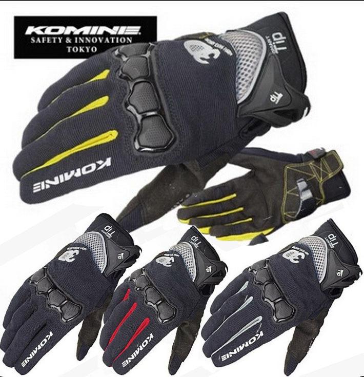 2015 summer new KOMINE GK162 3D mesh TECHNOLOGY riding font b glove b font motorcycle motorbike