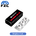 3pcs lot Original Kanger Dripbox Coil Kangertech Replaceable Drip Coil 0 2ohm Organic Cotton Subdrip Coil