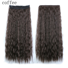 1PC Fashion Womens Wavy Curly Long Hair Wig Lady Wigs Party Cosplay Wigs Coffee wholesale Dec 13(China (Mainland))