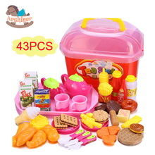 Arshiner 50Pcs/Set Kitchen Food Toys Pretend Play House Toys Children Kid Educational Toy Cake Cookies Creative Assembling Toys(China (Mainland))