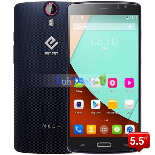 "Original ECOO E04 aurora Plus 5.5"" IPS FHD MTK6752 Octa Core Android 4.4 4G LTE FDD Mobile Phone 16MP 3GB RAM 16GB ROM in stock(China (Mainland))"