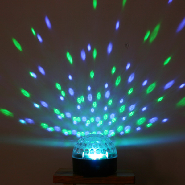 Can You Visit Industrial Light And Magic: IMONIC RGB Effect Light LED Crystal Magic Ball Disco Stage