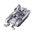Free Shipping 3D Metal Puzzle DIY Metal Jiasaw TIGER BMPT terminator tank Assemble Toys Models Metallic