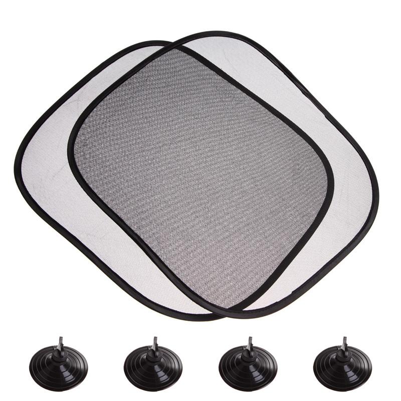 2016 summer hot 2pcs car solar protection car interior screen sun shade heat block me3l in. Black Bedroom Furniture Sets. Home Design Ideas