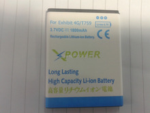 High Capacity 1800mAh Battery Use for Samsung T759 W689 S5820 I8150 Exhibit 4G etc Mobile Phones Battery