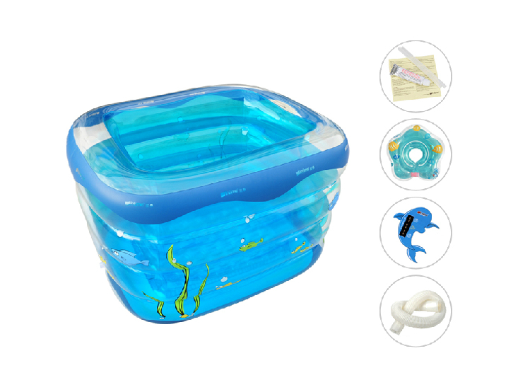 2014 sale pvc square baby inflatable swimming pool Square swimming pools for sale