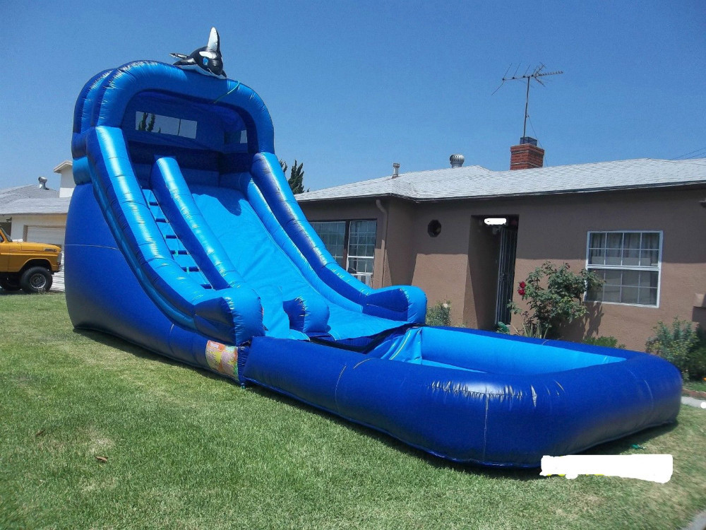 2015 New Inflatable Castles Inflatable Slides Inflatable Obstacle Inflatable Pool Slide Hxs
