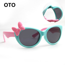 OTO Kids Polarized Sunglasses Baby Children TR90 Frame UV400 Protection Sun Glasses Boy Girls Cool Goggles With Gift Car Case(China (Mainland))