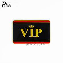 Buy Car Styling Aluminium Alloy VIP 80x50mm Logo Accessories Emblem Side Stickers Auto Badge Honda Audi Benz VW Ford Nissan for $4.98 in AliExpress store