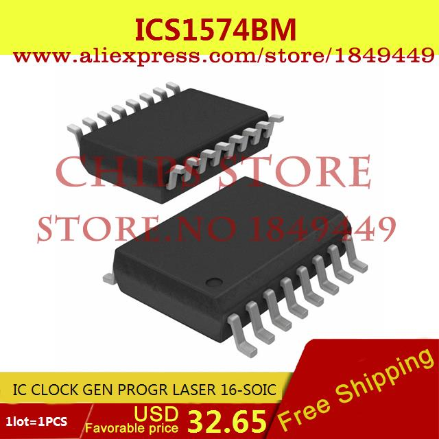 Бесплатная Доставка Integrated Circuit ICS1574BM IC CLOCK GEN PROGR ЛАЗЕРНАЯ 16-SOIC 1574 ICS1574 1 ШТ.  цена