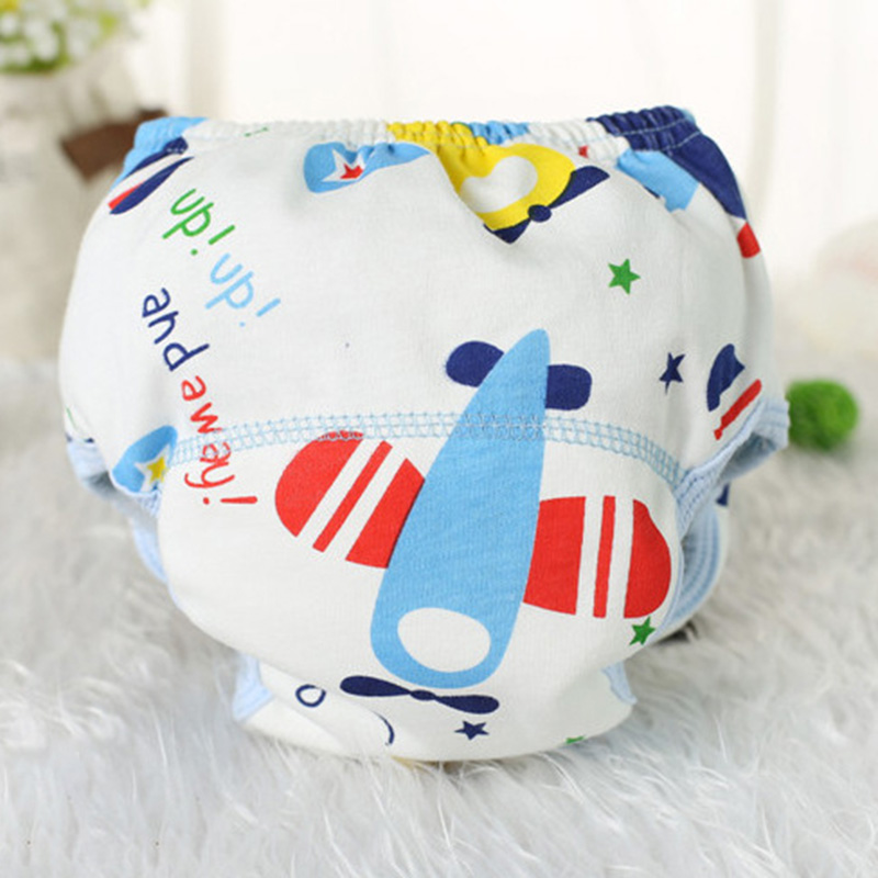 2Pcs Baby Breathable Cloth Cover Training Pants Reusable Washable Infants DiapersCouche Lavable Summer Version Nappies(China (Mainland))