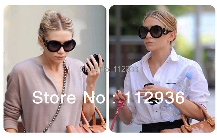 Hot popular Products Retro round Sun glasses women brand designer ladies' sunglasses without box ,Free shopping!!!(China (Mainland))
