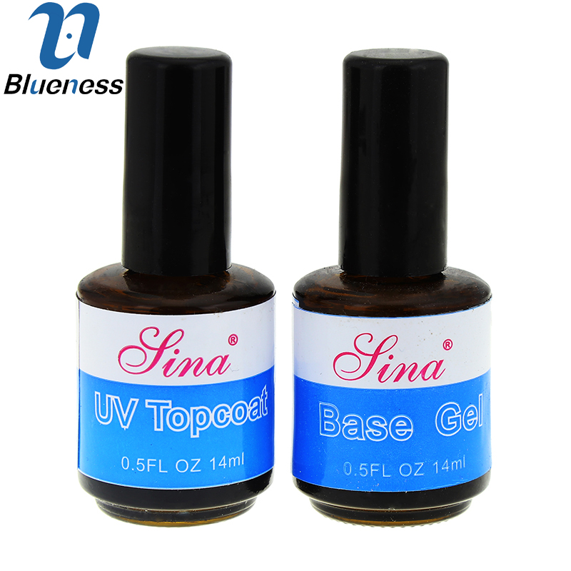 15 ML/Pcs UV Topcoat Base Gel Seal Glue Acrylic Nail Art Gel Polish Gloss Essential Phototherapy JH378(China (Mainland))