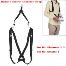 1 Piece New Black Polyester Remote Control Transmitter Neck Shoulder Strap for DJI Phantom 2 3 Inspire 1(China (Mainland))