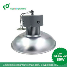 Free shipping-80W LED High Bay hanging type Factory Warehouse Light Indust0rial Light Replace Halgon Lamp led lights(China (Mainland))