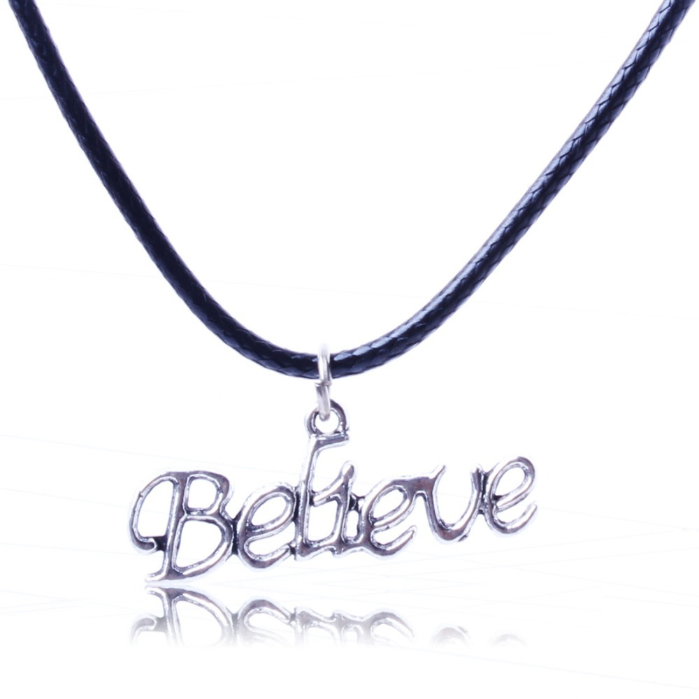 2015 Fashion Hot Quality Jewellery Lovely Alloy English Letters Necklace Pendant Gift Women Girl XL5572 - ShangHai Aokeshen co., LTD store