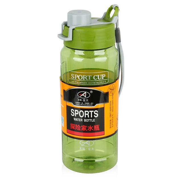 Спорт бутылки воды пластиковые BPA бесплатные бутылки воды пластиковые бутылки шейкер чашки для белка коктейли кубок насколько портативный кубок