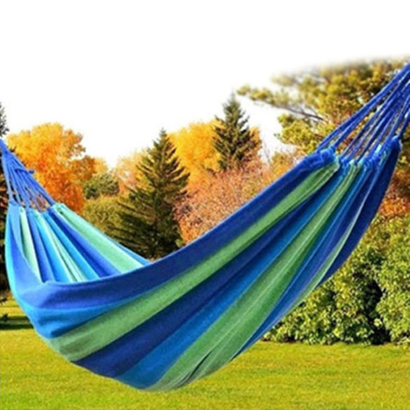 Portable 130 kg Load-bearing Outdoor Sleeping hammock mosquito net Garden Hammock Hang Bed Travel Camping Swing Survival