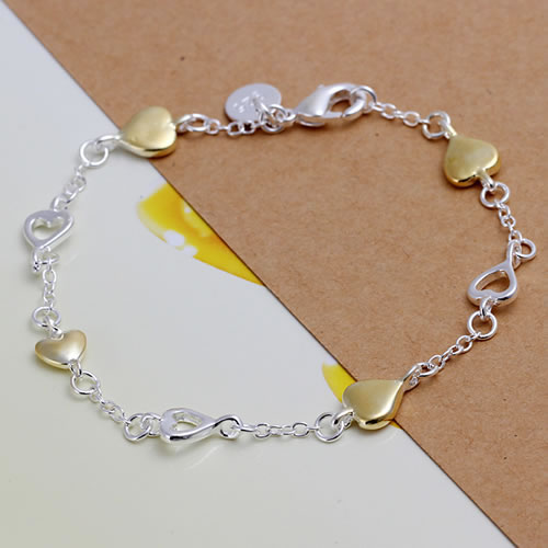 wholesale 925 sterling silver bracelet 925 silver fashion