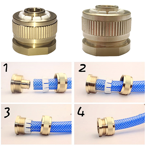 Brass Washing Machine Water Hose Pipe Fitting Tap Fitting Connector Adapter(China (Mainland))