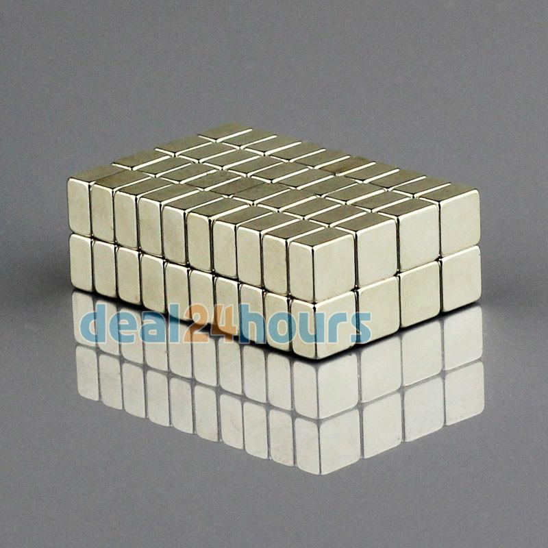 Гаджет  20 x Super Strong Block Cube Magnets Rare Earth Neodymium 5mm x 5mm x 3mm N35 Free Shipping None Строительство и Недвижимость
