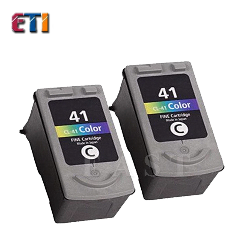 2PK For Canon  CL-41 CL41 Ink Cartridges  CL 41 For Canon PIXMA MP145/MP150/MP160/MP170/MP180 MP198 MP218/MP228/MP450/MP460<br><br>Aliexpress