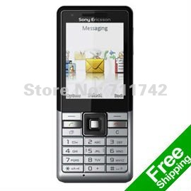 Sony Ericsson j105 Cell Phones Brand Unlocked J105 Mobile Phones 3G Bluetooth MP3 Player Free Shipping+In Stock!(China (Mainland))