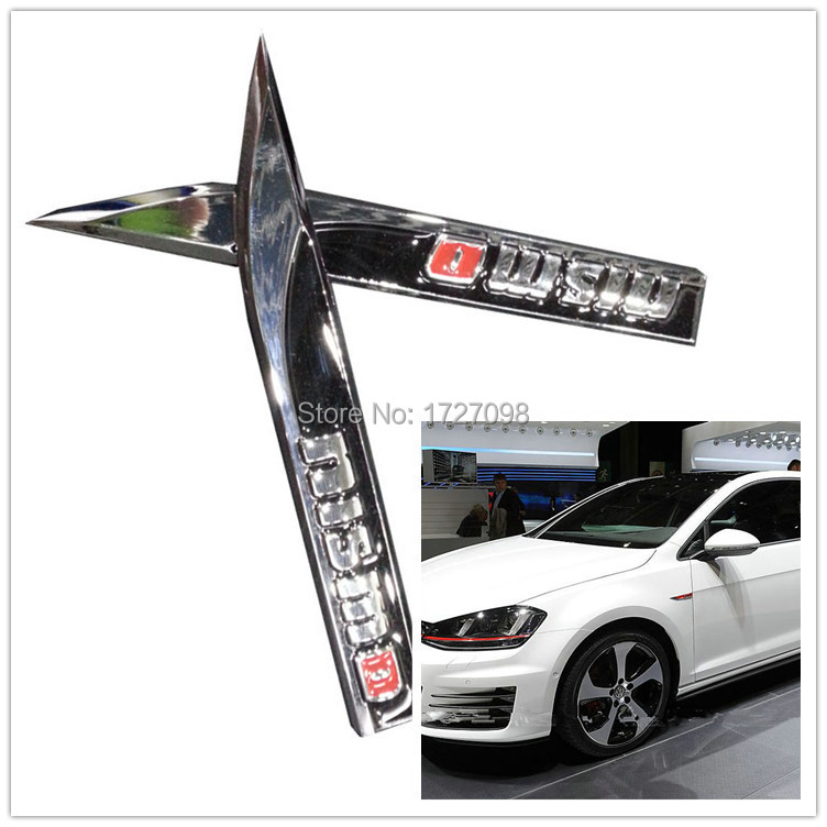 2pcs NISMO RECING SOPRT METAL Fender STICKER NISMO Car styling SIDE STICKER FOR NISSAN FREE SHIPPING(China (Mainland))