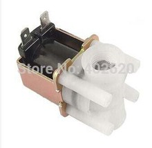 Buy Free 50PCS/LOT DC 24V 1/4'' Female Thread Water Flush Solenoid Valve RO Systerm Plastic, water machine solenoid valve for $195.99 in AliExpress store