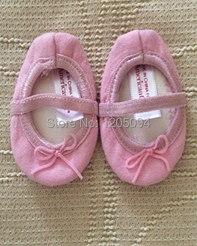 """18"""" doll clothes and accessories,doll shoes Ballet shoes for 18"""" inch american girl doll,birthday gift present,free shipping(China (Mainland))"""