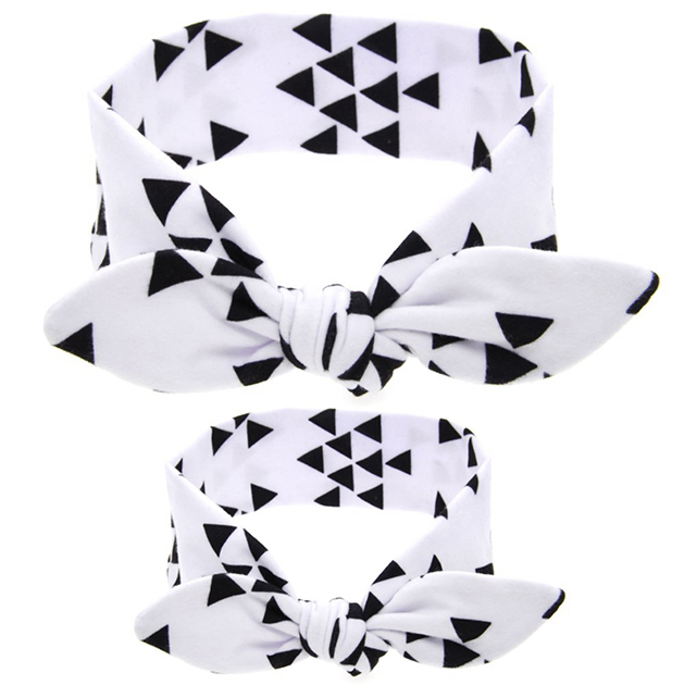 2PC-Set-Mom-Love-Kids-Rabbit-Ears-Hair-Band-Ornaments-Tie-Bow-Women-Headband-Stretch-Knot (1)