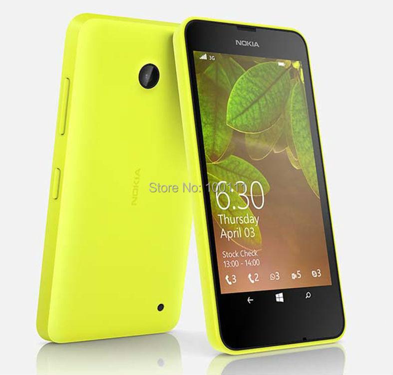 Nokia Lumia 630 mobile phone Original Unlocked quad core 5 MP camera single/dual sim card, Post Free Shipping(Hong Kong)