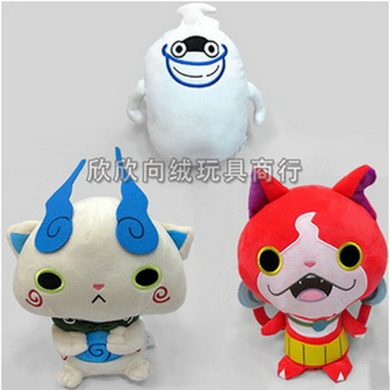 Yokai Watch toy 30CM Plush Toys Action Figure Cat Cartoon Model Kids Toy Stuffed Dolls Hot Sale Cheap(China (Mainland))
