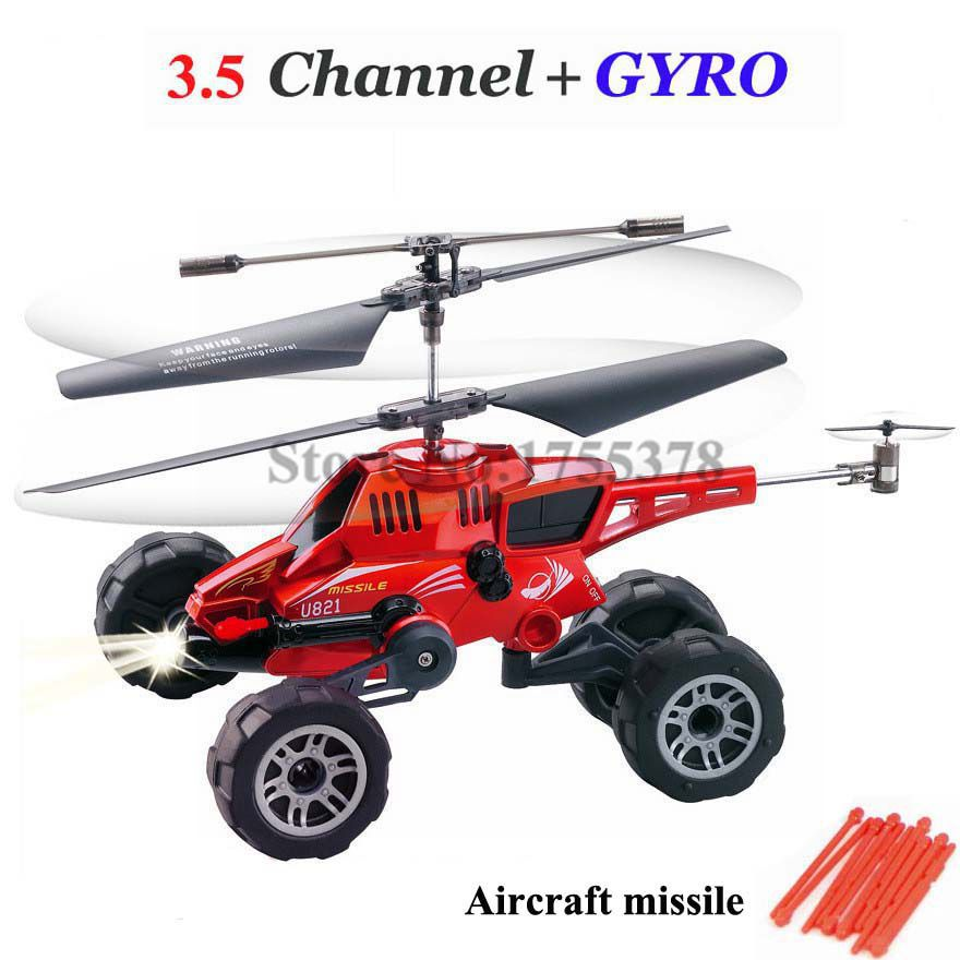 3.5CH remote control aircraft air-ground amphibious helicopter birthday with a gyroscope remote unmanned fighter aircraft(China (Mainland))